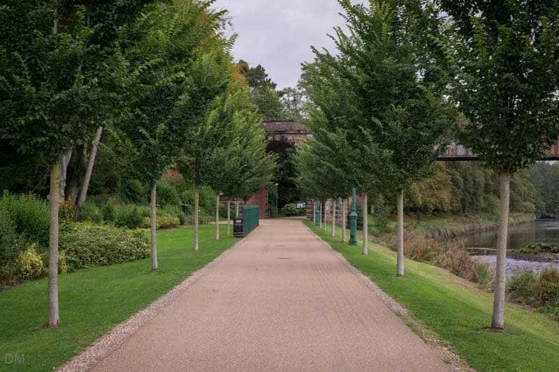 Riverside Walk, Miller Park, Preston