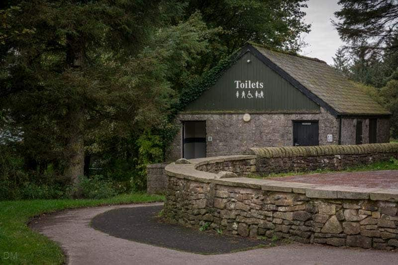 Toilets at Beacon Fell Country Park