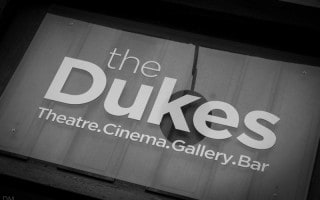 The Dukes theatre, cinema, gallery, and bar in Lancaster.