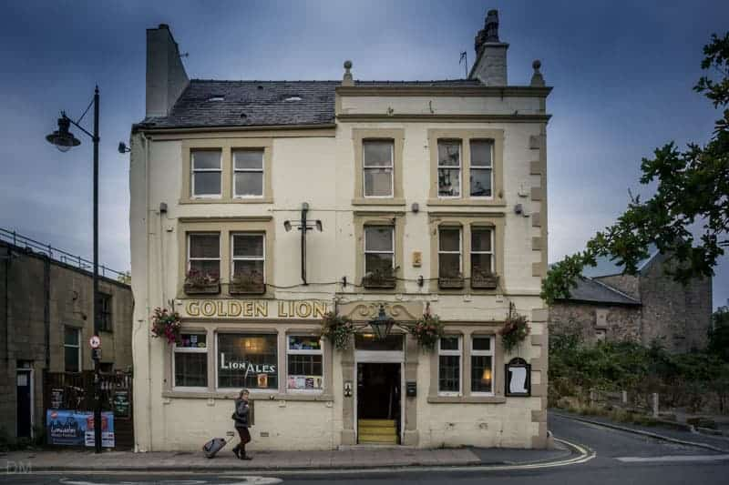 Golden Lion pub in Lancaster.