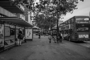 Piccadilly Gardens Bus Station, Manchester