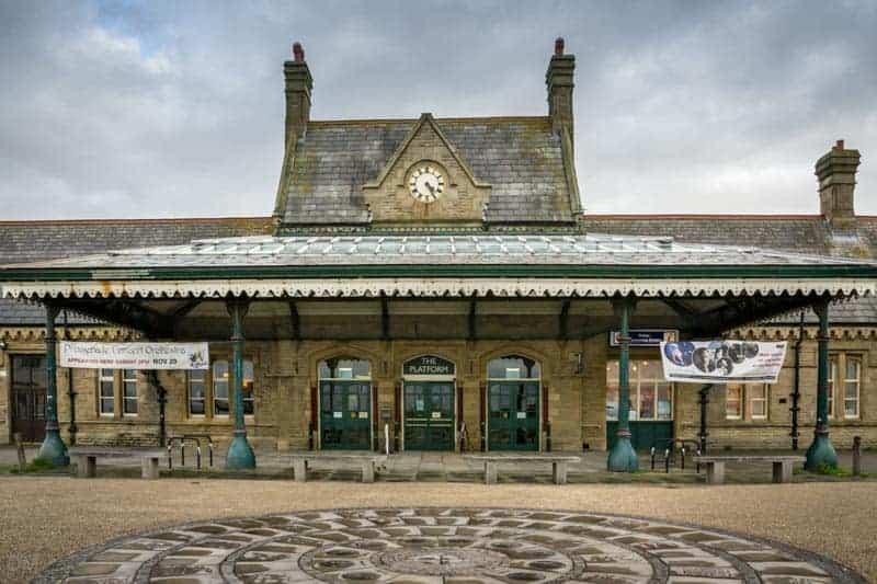 The Platform theatre in Morecambe, Lancashire