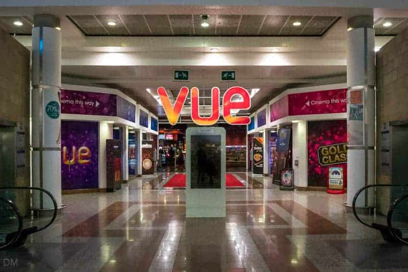 Vue Cinema Manchester Quayside, Lowry Outlet Mall, Salford Quays