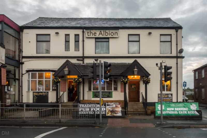 The Albion pub, Moor Lane, Bolton