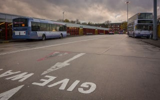 Bolton Bus Station, Moor Lane, Bolton, Greater Manchester