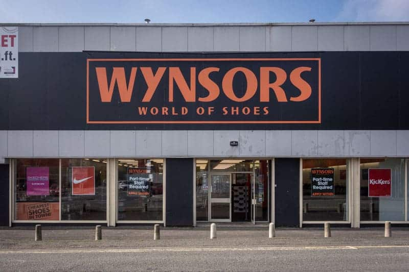 Wynsors World of Shoes, Burnley Retail Park, Burnley, Lancashire