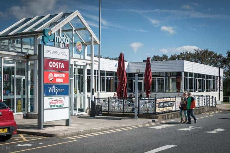 Burton-in-Kendal Services, M6 motorway