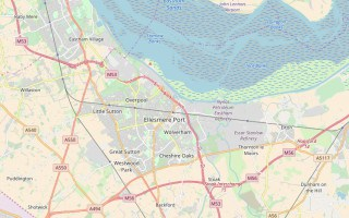 Ellesmere Port map