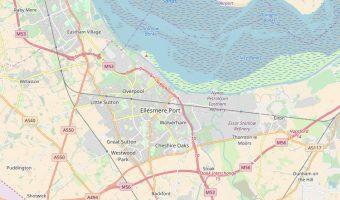 Ellesmere Port map