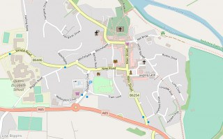 Kirkby Lonsdale map