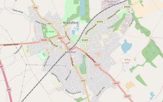Knutsford map