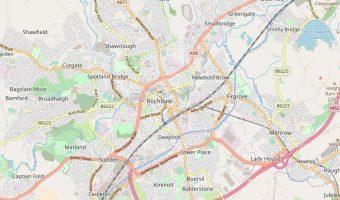 Rochdale map