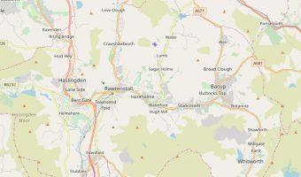 Rossendale map