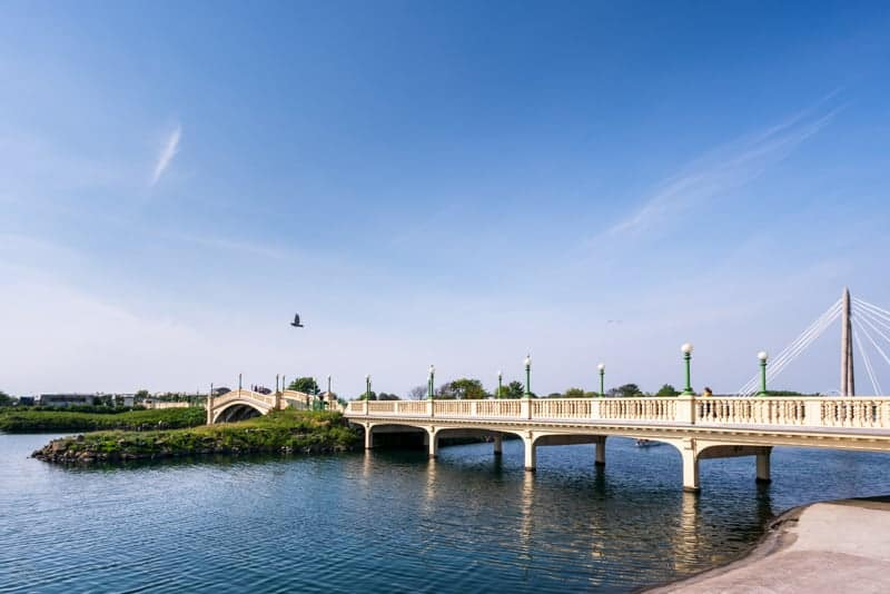 Venetian Bridge, King's Gardens, Marine Lake, Southport
