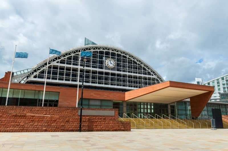 Manchester Central convention centre in Manchester, formerly GMEX