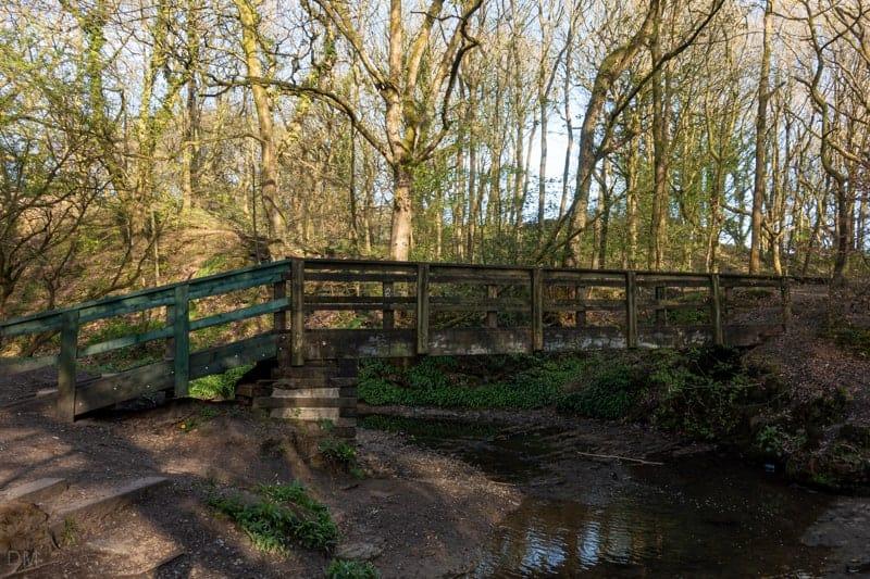 Footbridge over Borsdane Brook