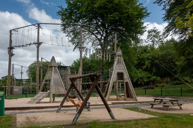 Adventure playground and Haigh High Ropes