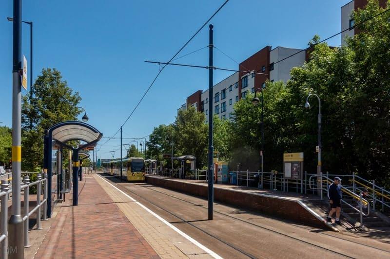 Tram at Ladywell Metrolink