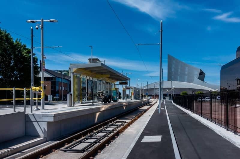 Imperial War Museum Metrolink Tram Stop