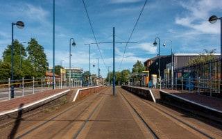 Langworthy Metrolink Tram Stop