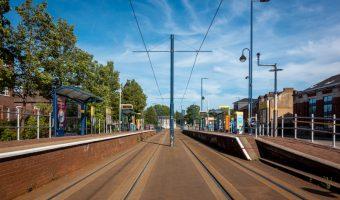 Weaste Metrolink Tram Stop