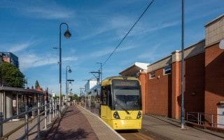 Eccles Metrolink Tram Stop