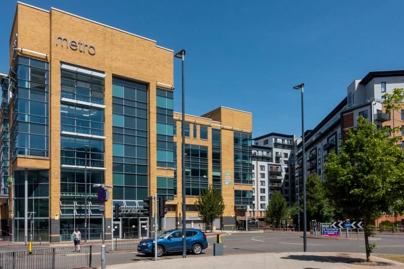 Offices at Exhange Quay, Salford Quays
