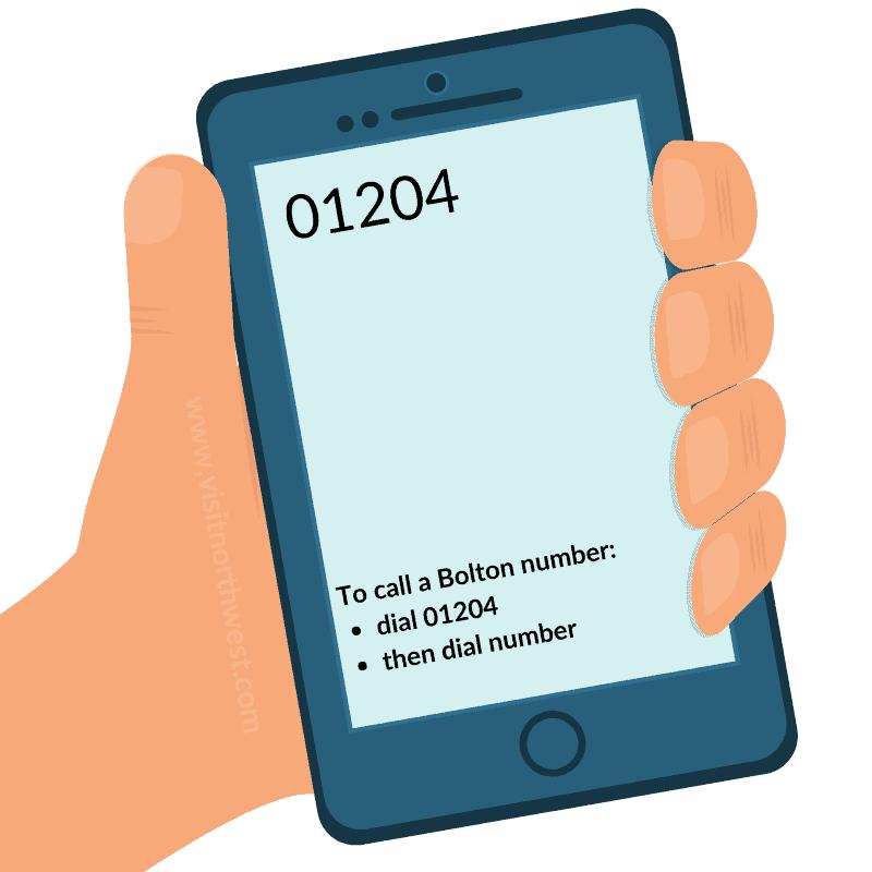 01204 Area Code - Bolton Dialling Code