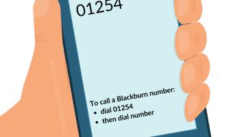 01254 Area Code - Blackburn Dialling Code