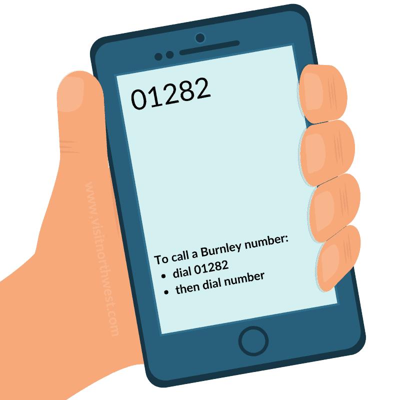01282 Area Code - Burnley Dialling Code