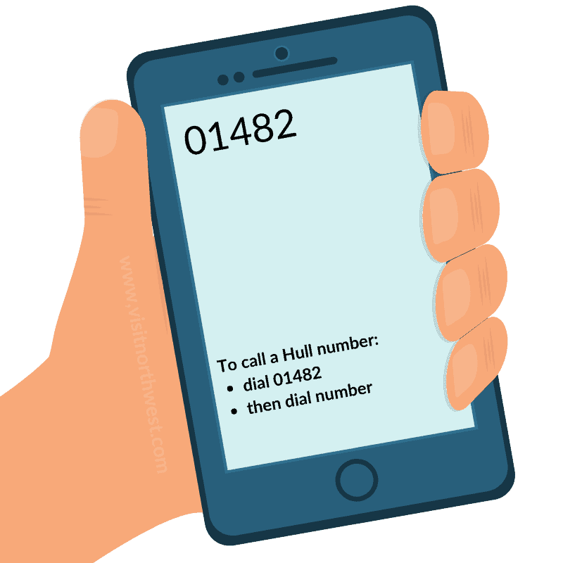 01482 Area Code - Hull Dialling Code