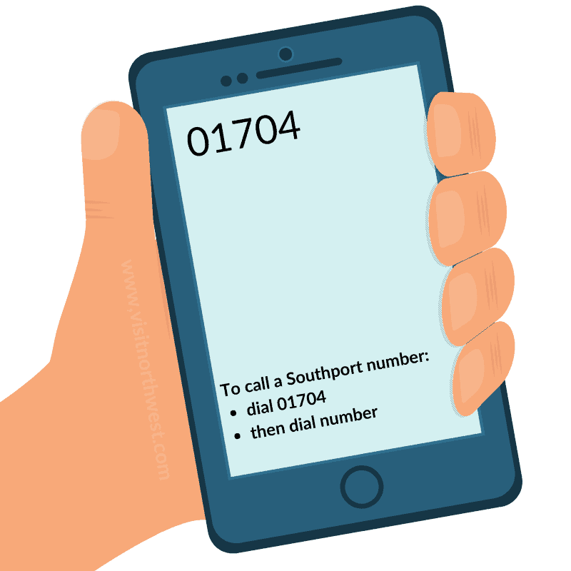 01704 Area Code - Southport Dialling Code