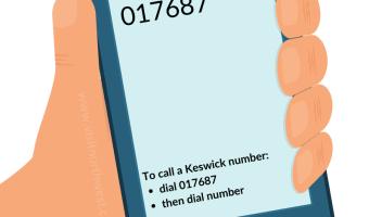 017687 Area Code - Keswick Dialling Code