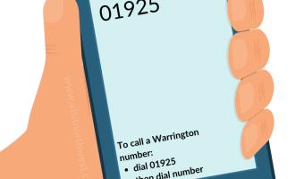 01925 Area Code - Warrington Dialling Code