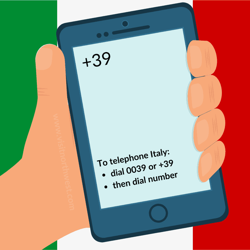 39 Country Code Italy Phone Dialling Code 0039 How To Call Italy From Uk