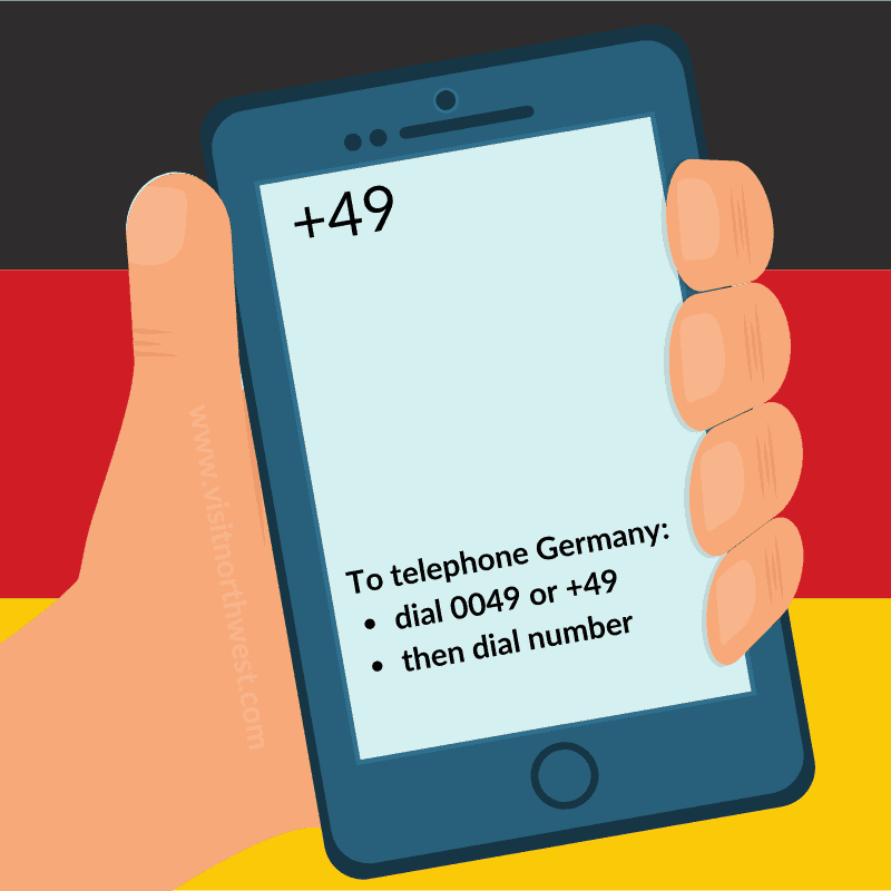 Germany Country Code +49 0049