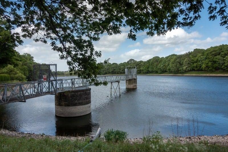 Worthington Lake at Worthington Lakes, Standish, Wigan