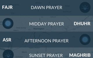 Prayer times Blackburn - namaz, salah, maghrib, fajr times