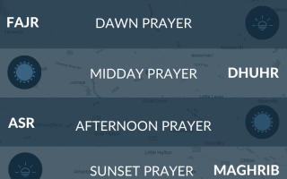 Prayer time Bolton. Namaz, fajr, salah times in Bolton, UK.