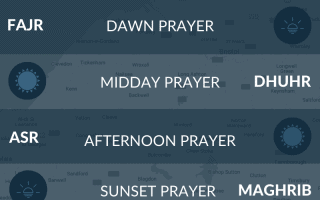Prayer times Bristol. Salah, namaz, fajr, maghrib, asr time in Bristol, UK.
