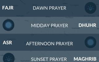 Cambridge prayer times. Muslim prayer times for Cambridge - fajr, namaz, maghrib, asr, salah.