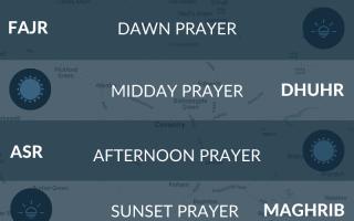 Coventry prayer times.