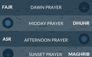 Muslim prayer times for Glasgow, Scotland. Namaz, salah, fajr, maghrib, isha, asr times.