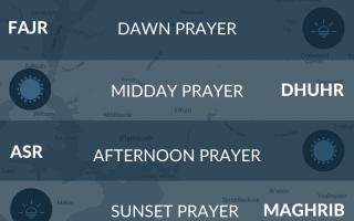 Plymouth prayer time. Salah times in Plymouth, Devon, UK.