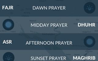 Prayer times Southampton, UK. Salah, namaz, maghrib times.