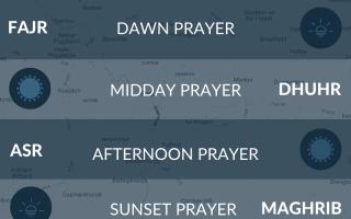 York prayer times