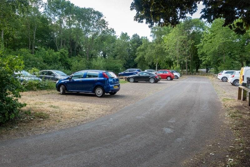 Waterways Car Park at Sankey Valley Park in Warrington