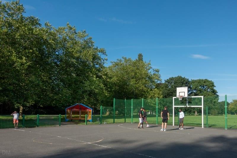 Multi-use sports area at Wythenshawe Park