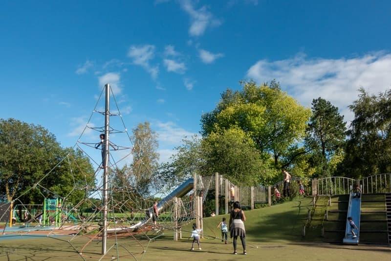 Playground at Wythenshawe Park