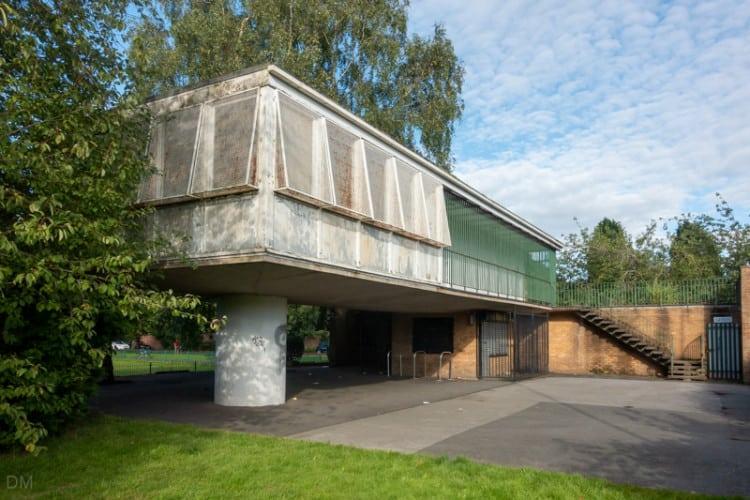 Pavilion at Wythenshawe Park